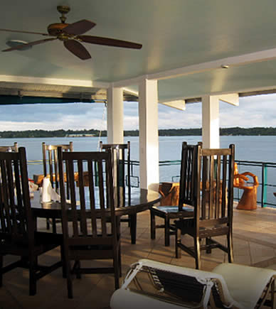 Oceanfront Vacation Rental with amazing view of the Caribbean Sea in Bocas del Toro, Panama