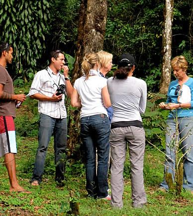 Cloudforest botanical tour in Boquete, Panama
