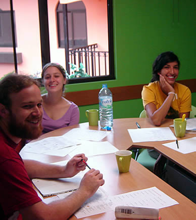 Group lessons at Habla Ya Spanish Schools